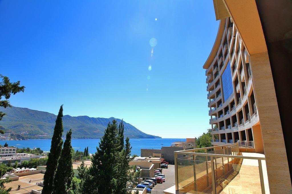 Новая квартира с двумя спальнями и прекрасным видом на Адриатику
