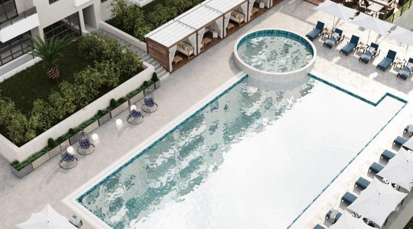 Апартаменты люкс в Бечичи вид на бассейн